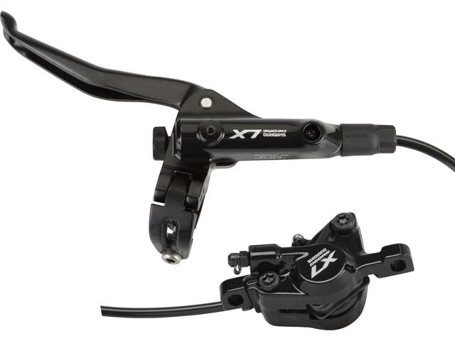 Shimano Deore LX Trekking T675 Scheibenbremse Vorderrad Postmount I-Spec B schwarz